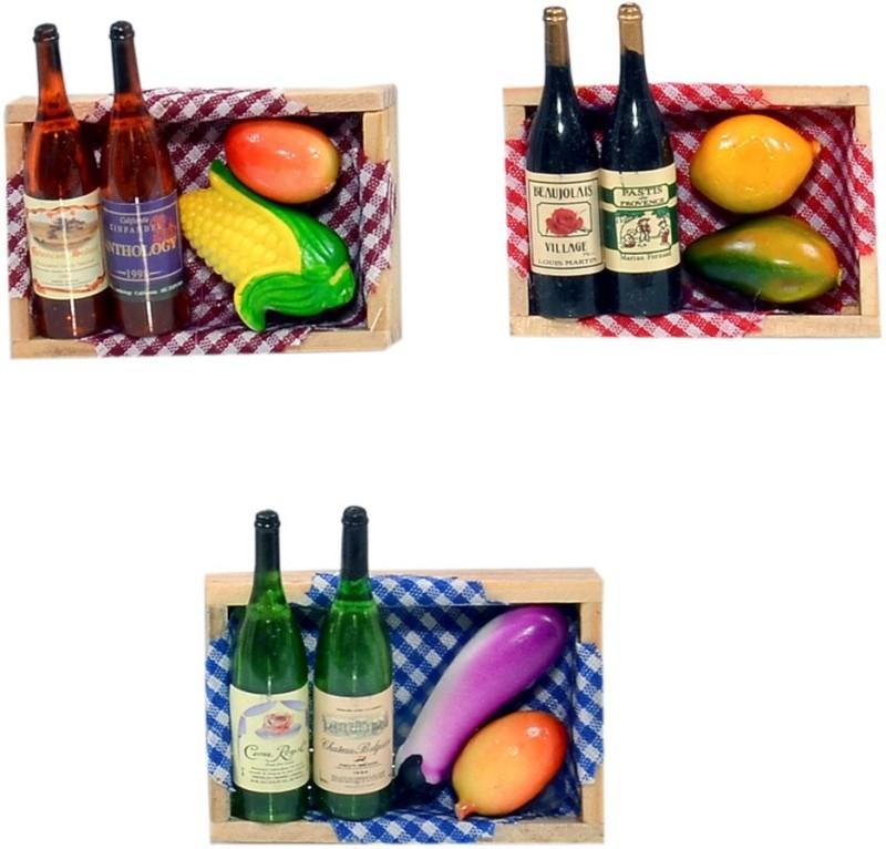 Cortina Fruit-FM-SO3-008 Fridge Magnet(Pack of 3, Multicolor)
