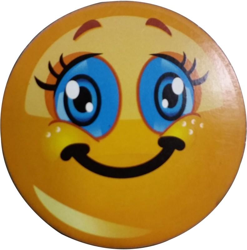 Fabionic Cute Eyes Emoji Fridge Magnet Pack of 1
