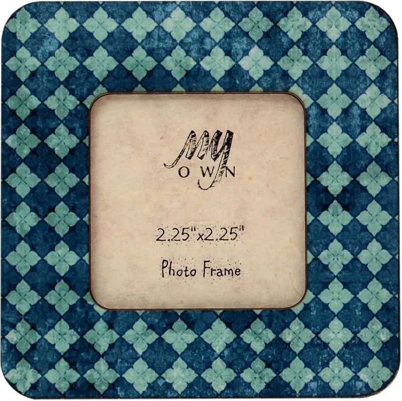 My Own Crossings Fridge Magnet Pack of 1(Blue)
