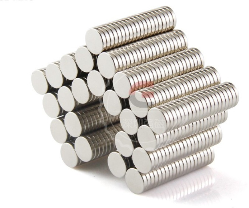 connect2fashion Neodymium Magnets Round Shaped - Pack of 100 Multipurpose Office Magnets(Pack of 100)