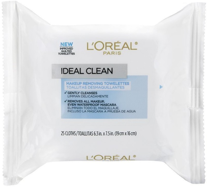 LOreal Paris Ideal Clean Make-Up Removing Towelettes Makeup Remover(25 g)