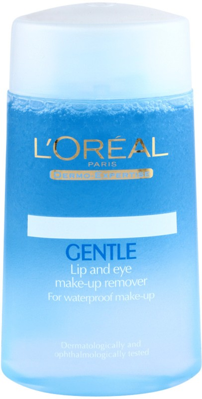LOreal Paris Dermo Expertise Gentle Lip and Eye Makeup Remover Makeup Remover(125 ml)