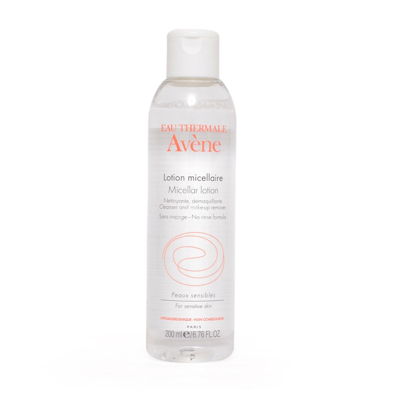 Avene Micellar Lotion Cleanser and Make-up Remover Makeup Remover(200 ml)