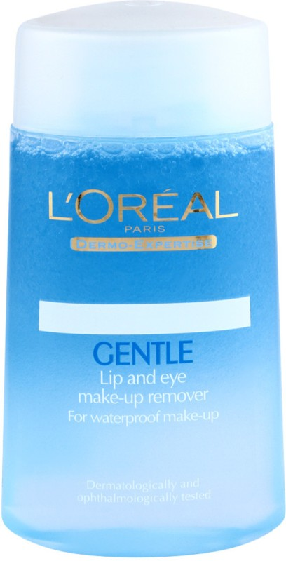 LOreal Paris Gentle Lip and Eye Makeup Remover Makeup Remover(125 ml)