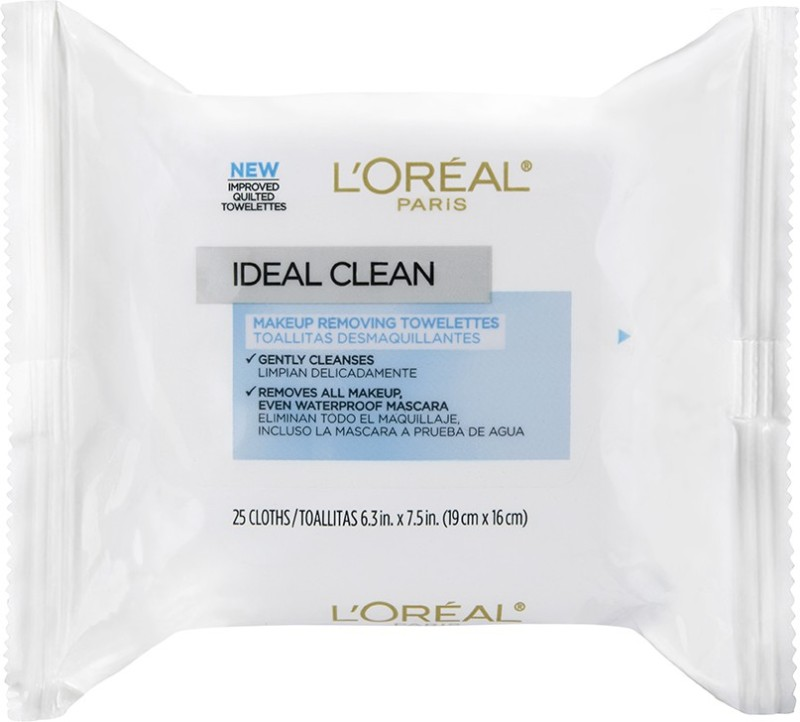 LOreal Paris Ideal Skin Make Up Removing Towelettes Makeup Remover
