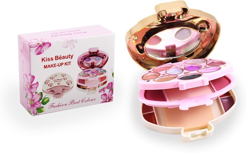 Kiss Beauty Make Up Kit Free Liner & Rubber Band-Amau(Pack of 7)
