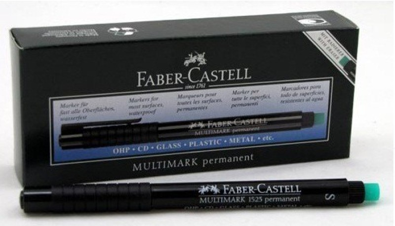 Faber-Castell 1523-10(Set of 10, Black)