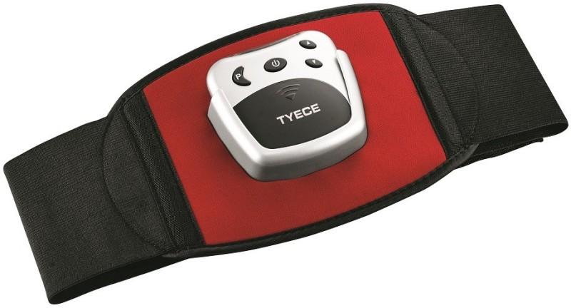 Tyece EZ Tone Abdominal Electronic Muscle Stimulation EZT Massager(Black, Red & Silver)