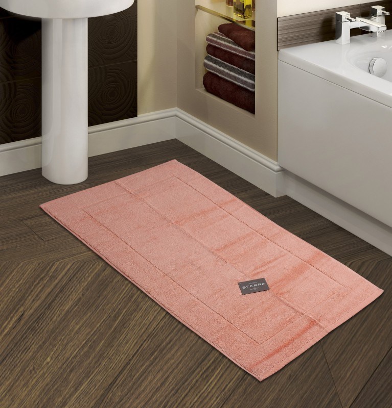 Sferra Cotton Bathroom Mat(Melon, Medium)