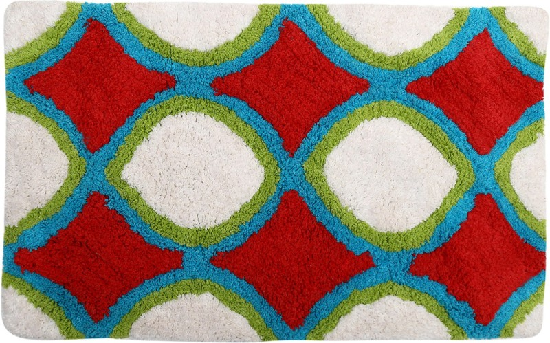Style Homez Cotton Bathroom Mat(Multicolor, Medium)