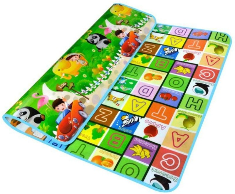Kiara Home PVC (Polyvinyl Chloride) Baby Play Mat(Multicolor, Large)