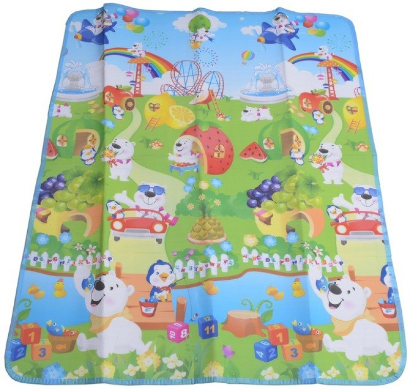 Shopaholic Fashion Plastic Baby Play Mat(Multicolor, Free)