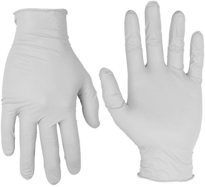 Exam Care Powdered Non-Sterile Latex Examination Gloves(Pack of 95)