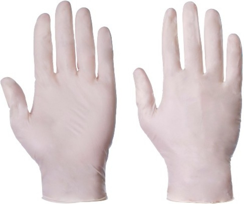 Midas Safety EN0 374-2003 Latex Examination Gloves(Pack of 100)