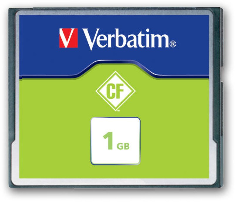 Verbatim 1 GB Compact Flash 6.5 MB/s Memory Card