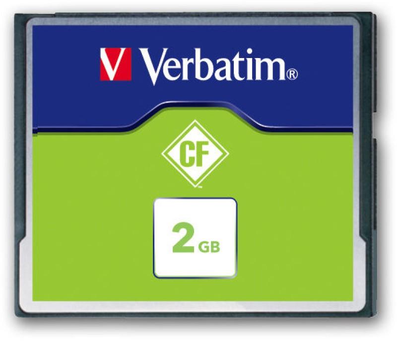 Verbatim 2 GB Compact Flash 6.5 MB/s  Memory Card