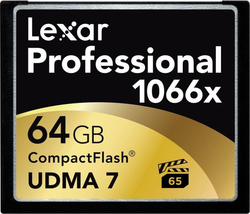 Lexar Professional 64 GB Compact Flash Class 10 160 MB/s Memory Card