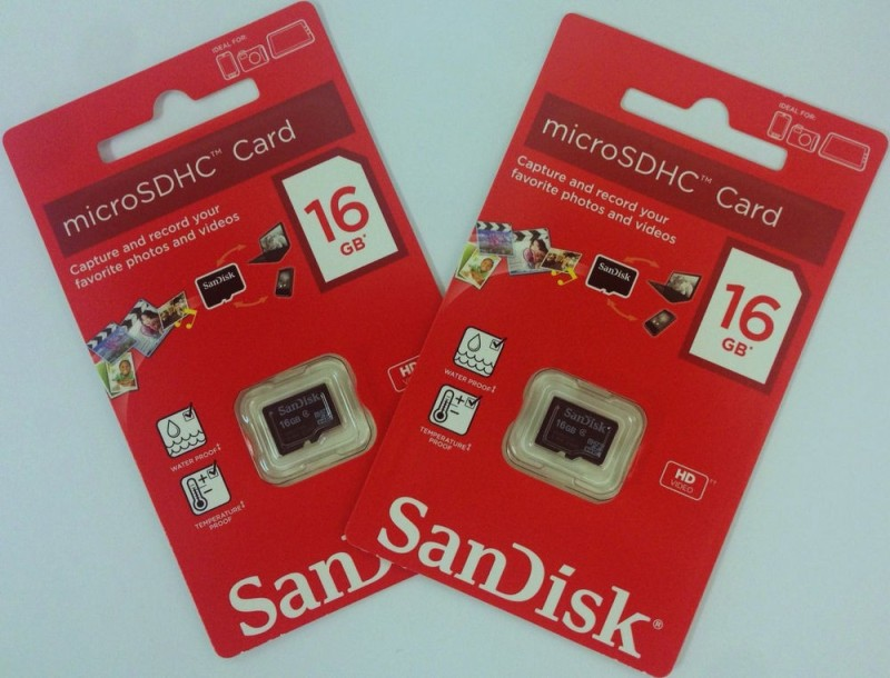 SanDisk Class 4 16 GB MicroSD Card Class 4 20 MB/s  Memory Card image
