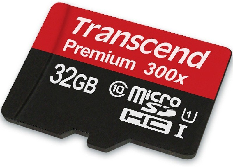 Transcend Premium 32 GB MicroSD Card Class 10 45 MB/s  Memory Card image