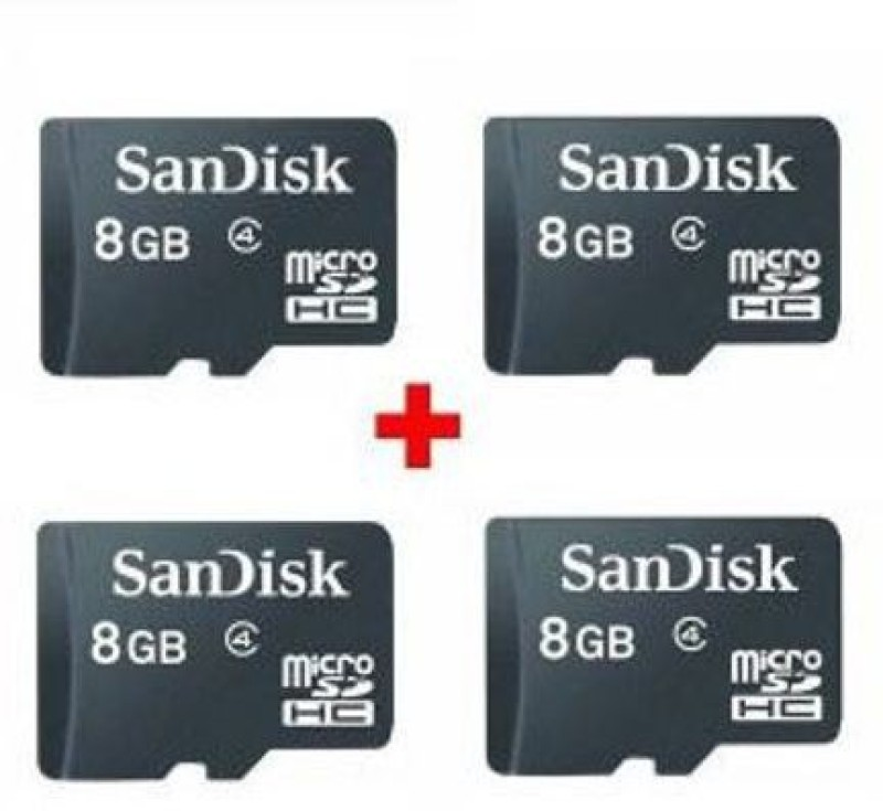 SanDisk Ultra 8 GB MicroSDHC Class 4 48 MB/s  Memory Card image