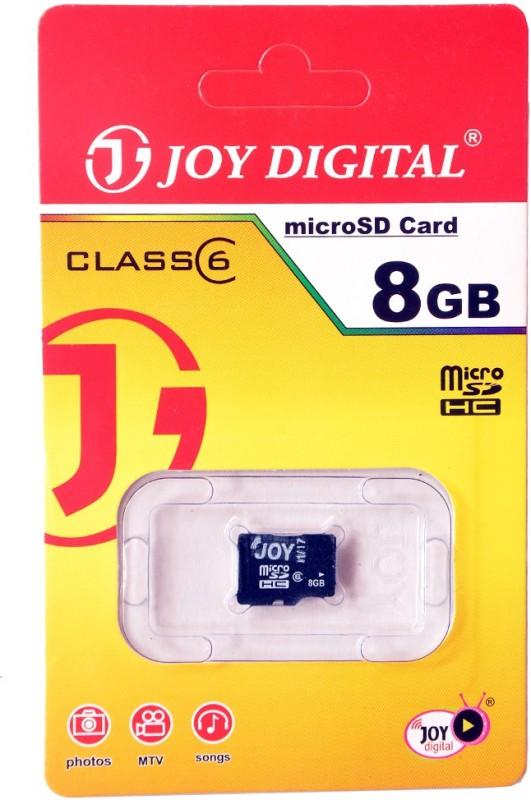 Joy Ultra 8 GB SD Card Class 6 90 MB/s  Memory Card