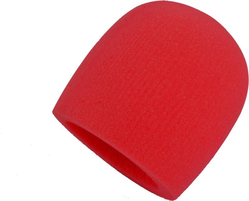 Prodx windscreen foam red pack of-2pcs shield sponge foam(Red)