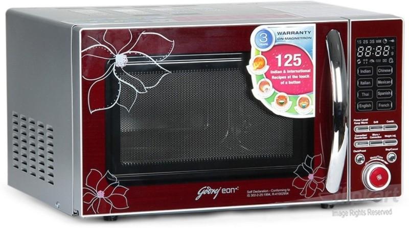Godrej 20 L Convection Microwave Oven(GME 20CM2FJZ, Red Floral)