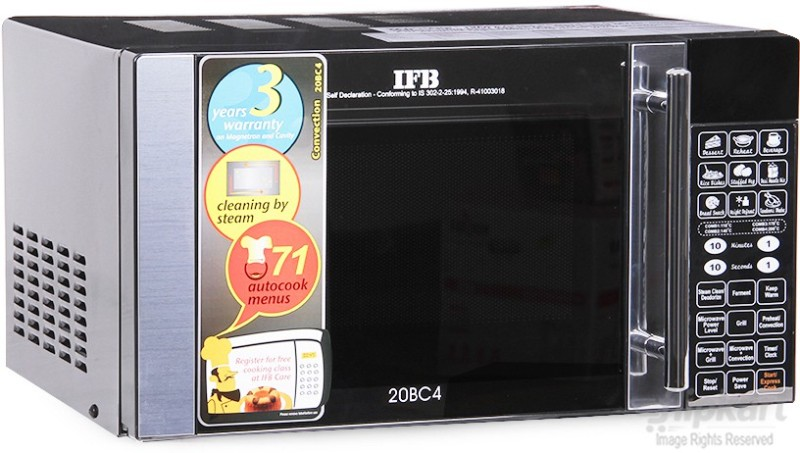 IFB 20 L Convection Microwave Oven(20BC4, Black)