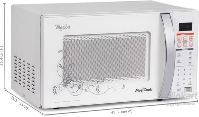 Whirlpool 20 L Solo Microwave Oven(MAGICOOK 20L CLASSIC (NEW), white)