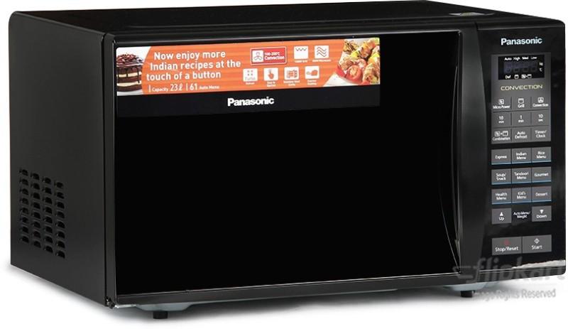 Panasonic 23 L Convection Microwave Oven(NN-CT353BFDG, Black Mirror)