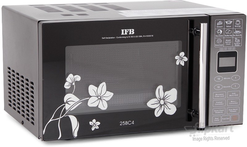 IFB 25 L Convection Microwave Oven(25BC4, Black)