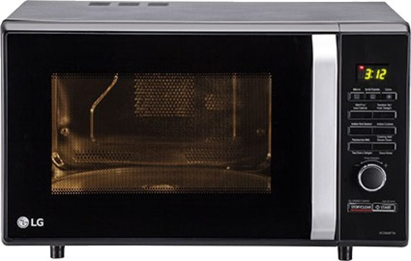 LG 28 L Convection Microwave Oven(MC2886BFTM, Black)