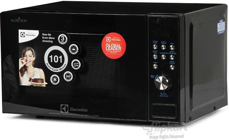 Electrolux 23 L Convection Microwave Oven(C23J101.BB-CG Black)