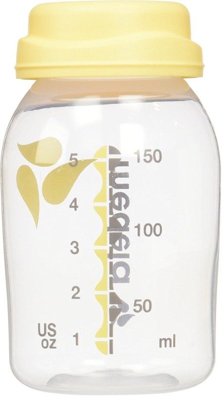 Medela Breast Milk Collection and Storage Bottles(Pack of 6, Clear)
