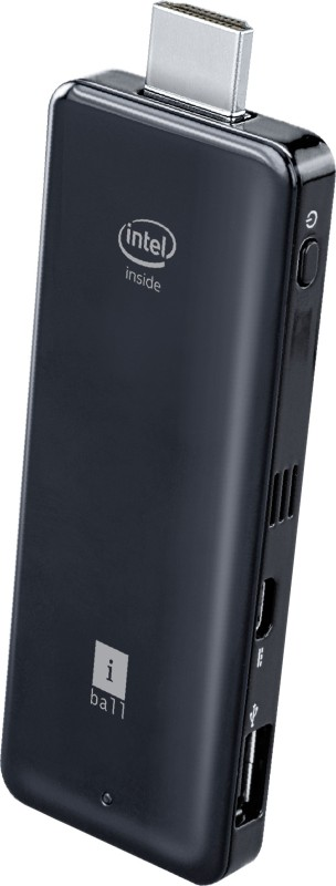 Iball Splendo PC-on-Stick - Windows 8.1, Intel Atom Processor Z3735F, 2 GB DDR3, 32 GB eMMC 2 Stick PC(Black)