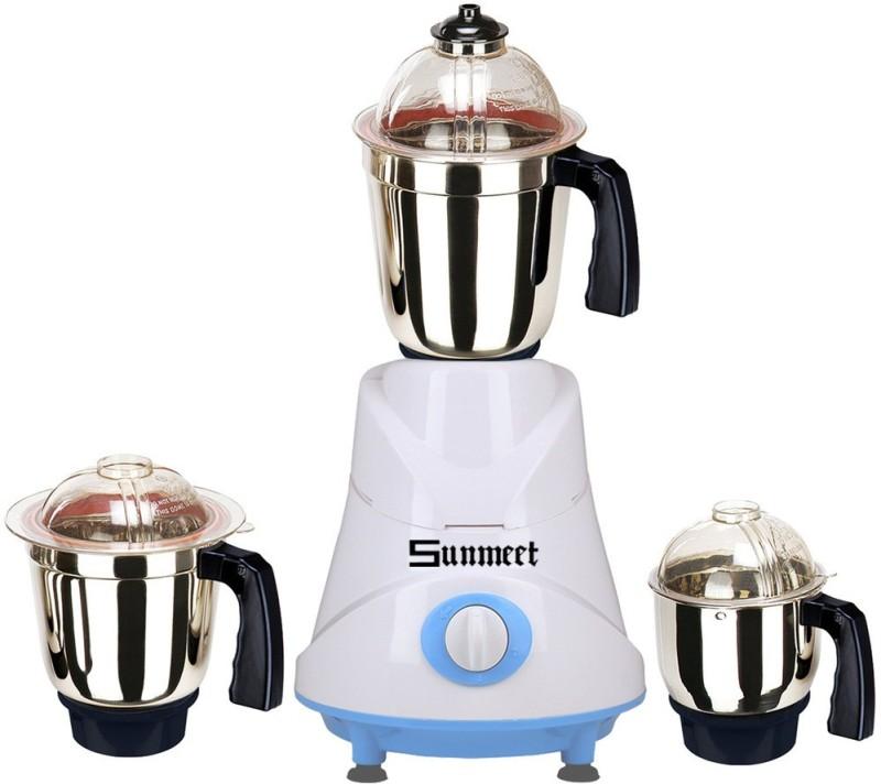 Sunmeet SM-38 600 W Mixer Grinder(Multicolor, 3 Jars)