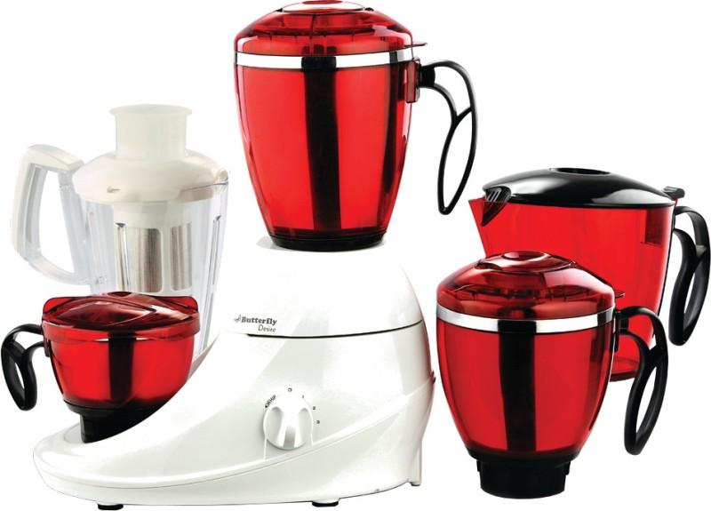 Butterfly Desire 4 746 W Juicer Mixer Grinder(4 Jars)