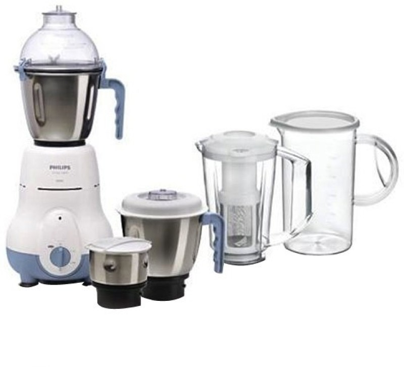 Philips HL1643/06 600 W Juicer Mixer Grinder(White, 5 Jars)
