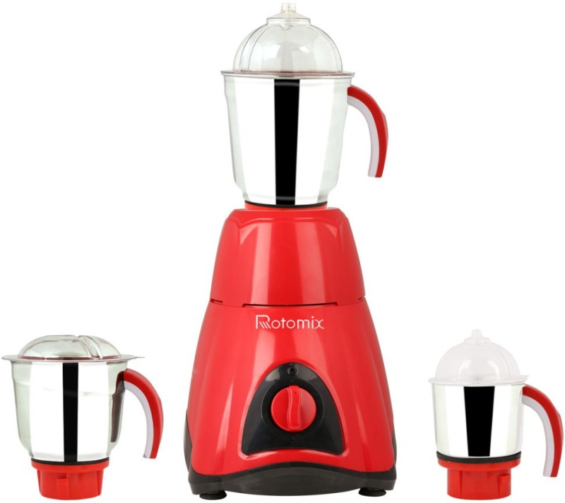Rotomix RTM-MG16 136 1000 W Mixer Grinder(Red, 3 Jars)