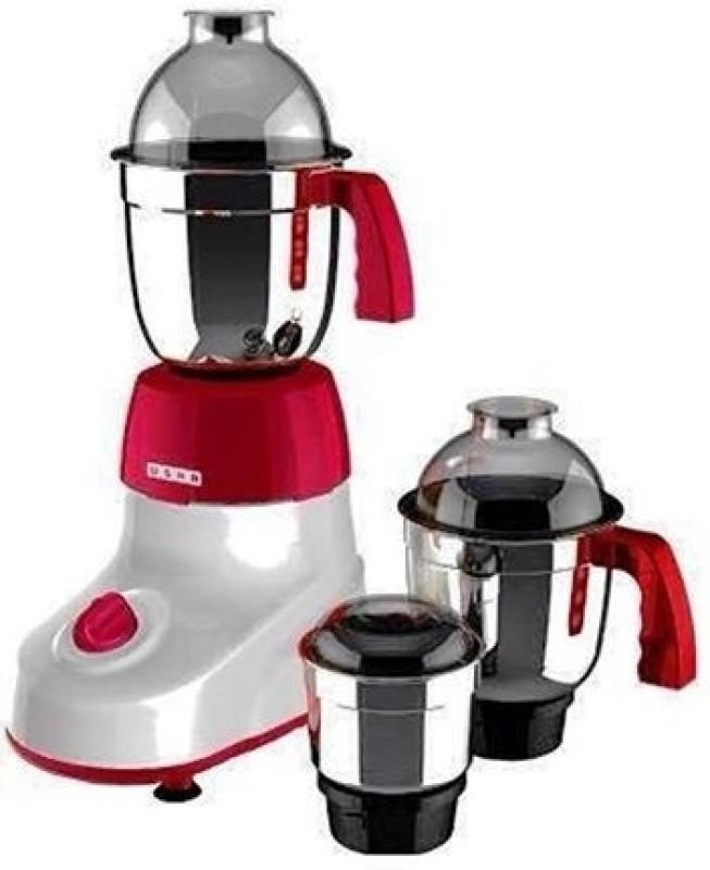 Usha microsmart3475 650 W Juicer Mixer Grinder(Red, 3 Jars)