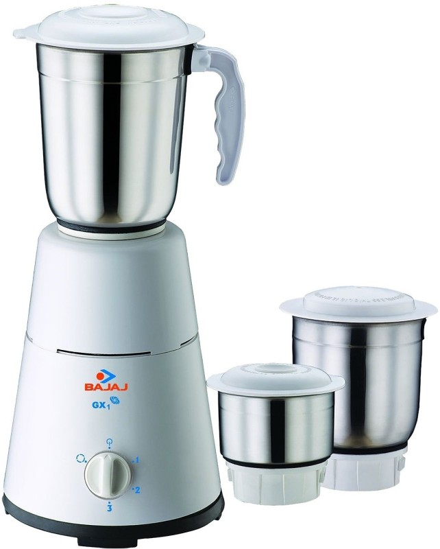Deals - Mumbai - Bajaj GX1 500 W Mixer Grinder <br> Juicer Mixer Grinder<br> Category - Appliances<br> Business - Flipkart.com