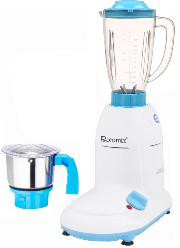 Rotomix ABS Body MGJ-WFJ16-121 1000 W Mixer Grinder(Multicolor, 2 Jars)