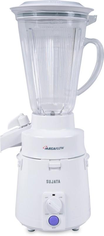 Sujata Megamix 810 W Juicer Mixer Grinder(White, 1 Jar)