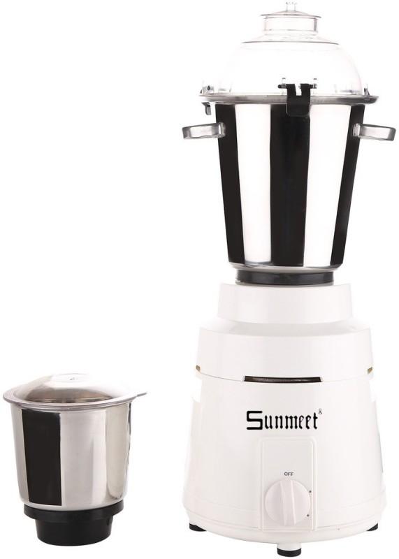 Sunmeet SM_COMR_1200Watts_MA17 1200 W Mixer Grinder(White, 2 Jars)
