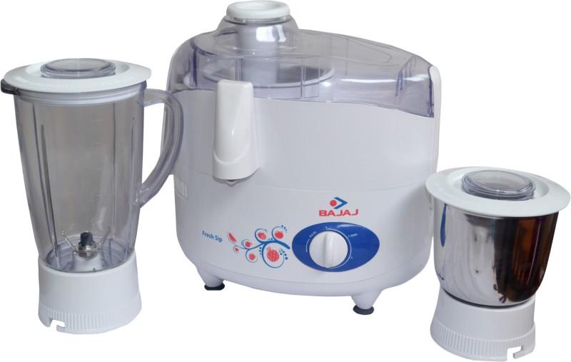 Bajaj Majesty JMG 450 W Juicer Mixer Grinder(White, 2 Jars)