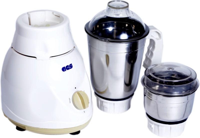 Acs Pride 450 W Mixer Grinder(White, 2 Jars)