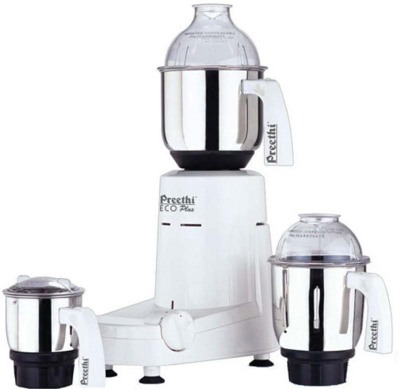 Preethi 110 Eco Plus - MG 138 550 W Mixer Grinder(3 Jars)