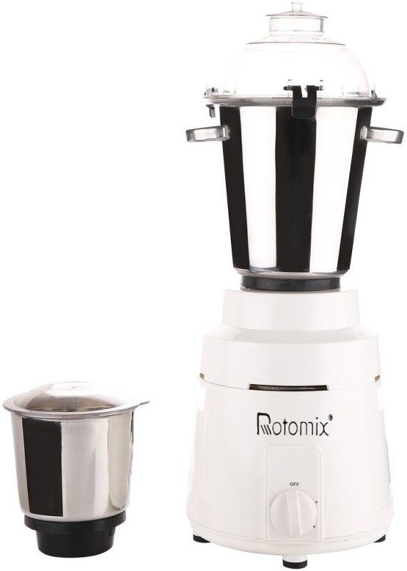 Rotomix RM_COMR_1200Watts_MA17 1200 W Mixer Grinder(White, 2 Jars)