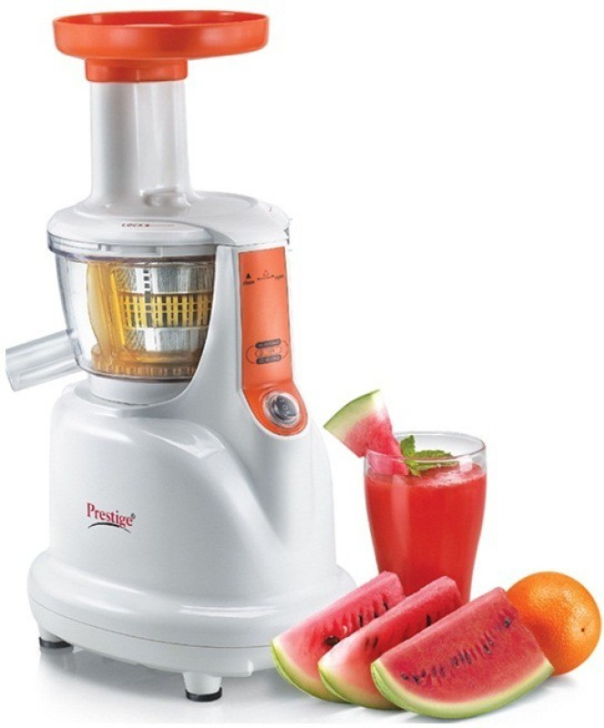 Prestige SLow Juicers PSJ 41112_PSJ_2.0 200 W Juicer(White, 1 Jar)