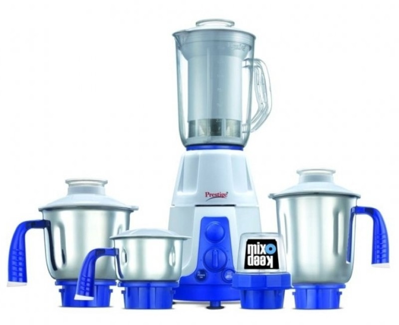 Prestige Deluxe Plus VS 750 W Juicer Mixer Grinder(5 Jars)